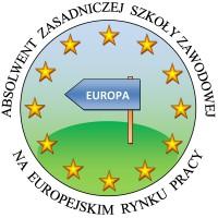 logo zasadniczej szkoły zawodowej na europejskim rynku pracy