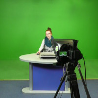 Z wizytą w Telewizji Elbląskiej