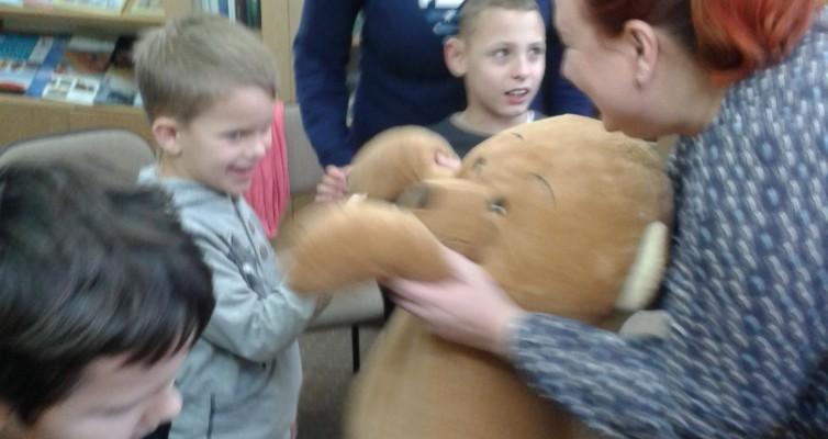Miś Franio- przyjaciel dzieci