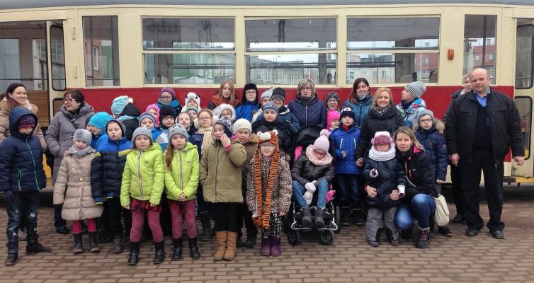 Wycieczka do Zajezdni tramwajowej w Elblągu