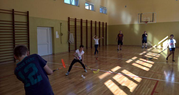 Pierwsze zajęcia sportowe w nowej sali gimnastycznej