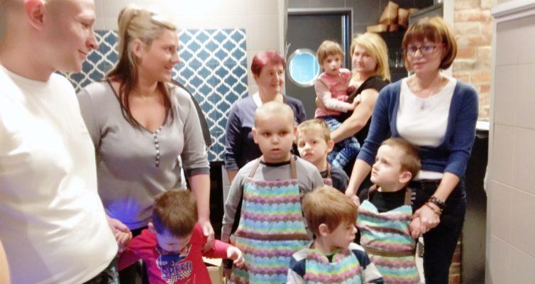 Wizyta przedszkolaków w pizzerii